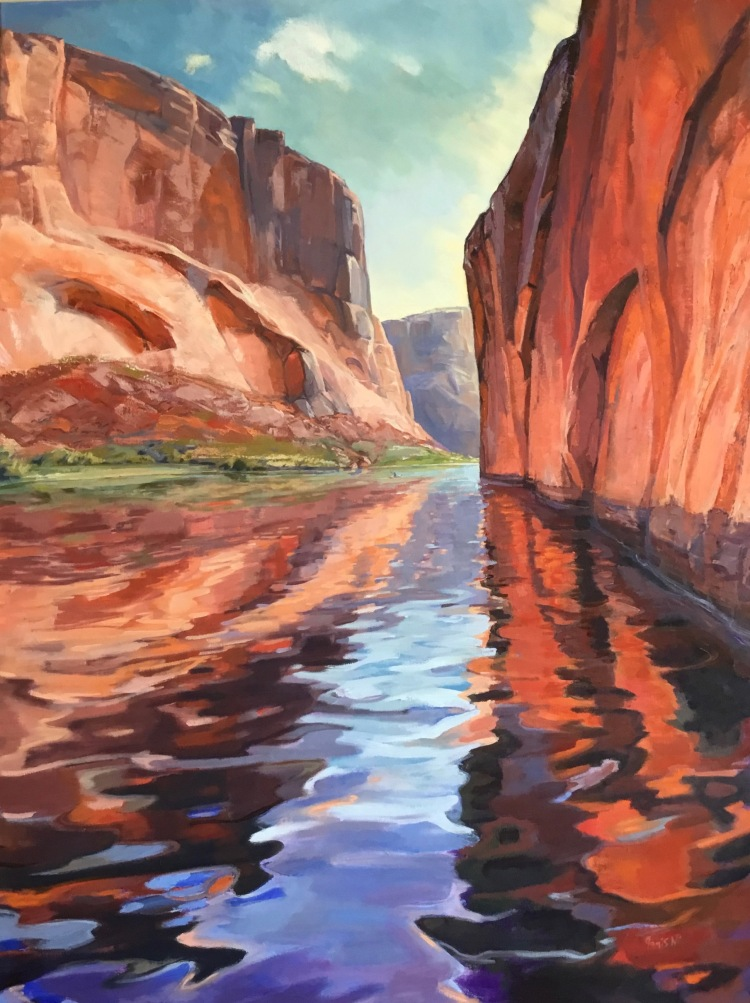 Kayaking Glen Canyon